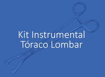 Kit Instrumental - Placa Tóraco Lombar