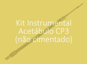 Kit Instrumental - Acetábulo Biomec 3 (Não Cimentado)